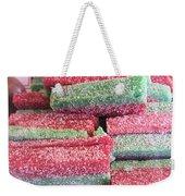 Green Red Sugary Sweet Weekender Tote Bag