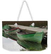 Green Reflection Weekender Tote Bag