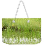 Green Reflections Weekender Tote Bag