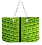Green Ribs Weekender Tote Bag