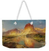 Green River Of Wyoming Weekender Tote Bag by Thomas Moran