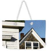 Green Roof Stonington Deer Isle Maine Coast Weekender Tote Bag