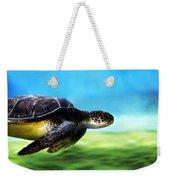 Green Sea Turtle 2 Weekender Tote Bag