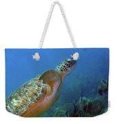 Green Sea Turtle 4 Weekender Tote Bag