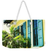 Green Shutters Weekender Tote Bag