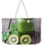 Green Smoothie Weekender Tote Bag