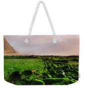 Green Soul Of The Cliff Weekender Tote Bag