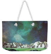 Green Space Weekender Tote Bag