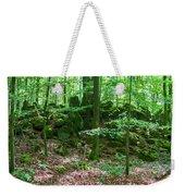 Green Stony Forest In Vogelsberg Weekender Tote Bag