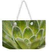 Green Succulent  Weekender Tote Bag