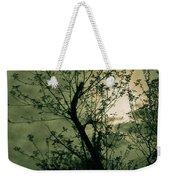 Green Sunset Weekender Tote Bag