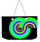 Green Targets Weekender Tote Bag