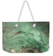 Green Texture Weekender Tote Bag