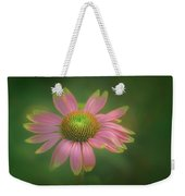 Green Tipped Coneflower Weekender Tote Bag