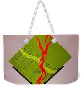 Green Touch Weekender Tote Bag