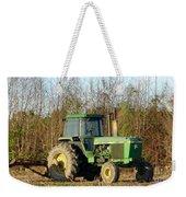 Green Tractor Weekender Tote Bag