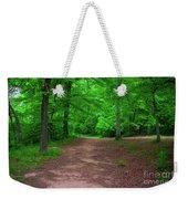 Green Trail Weekender Tote Bag