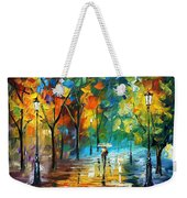 Green Tree Weekender Tote Bag