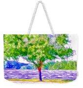 Green Trees By The Water  5 Weekender Tote Bag