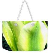 Green Tulip Weekender Tote Bag