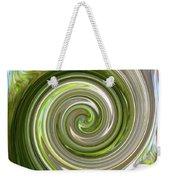 Green Twirl Weekender Tote Bag