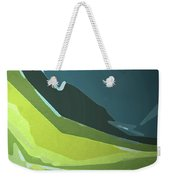 Green Valley Weekender Tote Bag by Gina Harrison