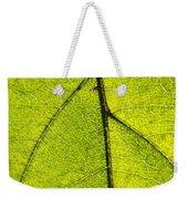 Green Veins Weekender Tote Bag