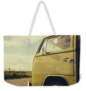 Green Vw T2 Camper Van 02 Weekender Tote Bag