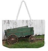 Green Wagon Weekender Tote Bag