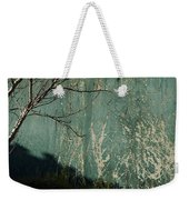 Green Wall Abstract Weekender Tote Bag