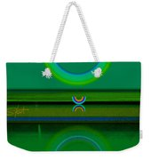Green Water Weekender Tote Bag