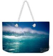 Green Wave Weekender Tote Bag
