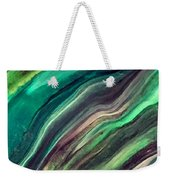Green Waves Weekender Tote Bag