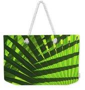 Green Weaver Weekender Tote Bag