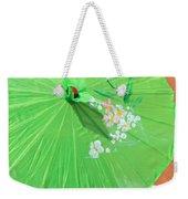 Green Western Day Weekender Tote Bag