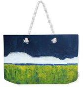 Green Wheat Field Weekender Tote Bag