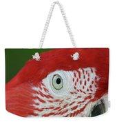 Green-winged Macaw Close Up Weekender Tote Bag