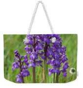 Green-winged Orchids Weekender Tote Bag