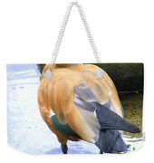 Green Winged Wood Duck 1 Weekender Tote Bag