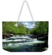 Greenbrier River Scene Weekender Tote Bag