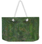 Greenery In Green Weekender Tote Bag