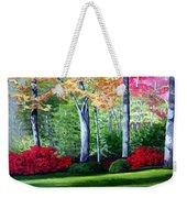 Greenfield Lake Garden Weekender Tote Bag