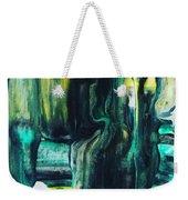 Greenish Weekender Tote Bag
