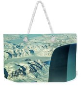 Greenland From Flight Level 380 Weekender Tote Bag