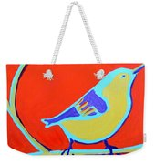 Greenough Nuthatch Weekender Tote Bag