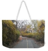 Greenway Trail In The Fall Weekender Tote Bag