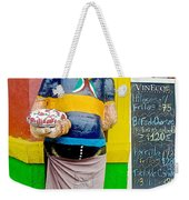 Greeter At Pizzeria In La Boca Area Of Buenos Aires-argentina- Weekender Tote Bag