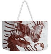 Greeting 10 - Tile Weekender Tote Bag