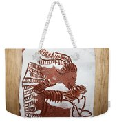 Greeting 2 - Tile Weekender Tote Bag