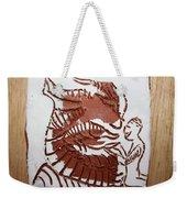 Greeting 4 - Tile Weekender Tote Bag